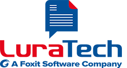 LuraTech - a Foxit Software Company Logo