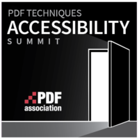 PDF Association - PDF Techniques Accessibility Summit 2018 - Logo