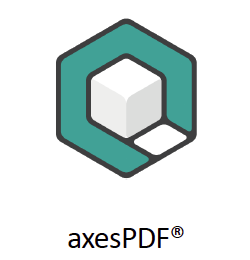 axesPDF- Logo with text