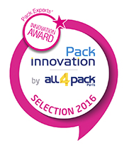 Comité Pack Experts Innovation Awards 2016 to iC3D from Creative Edge Software - Award Logo