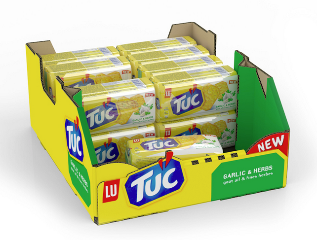 iC3D - Tuc Biscuits Multi-Pack Retail Ready Box - Bild