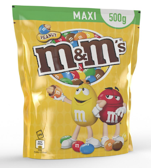 iC3D Opsis Model - Food - M&M Maxi - Pillow Bag - Picture