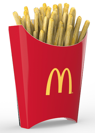 iC3D Opsis Model - Food - McDonalds French Fries - Picture