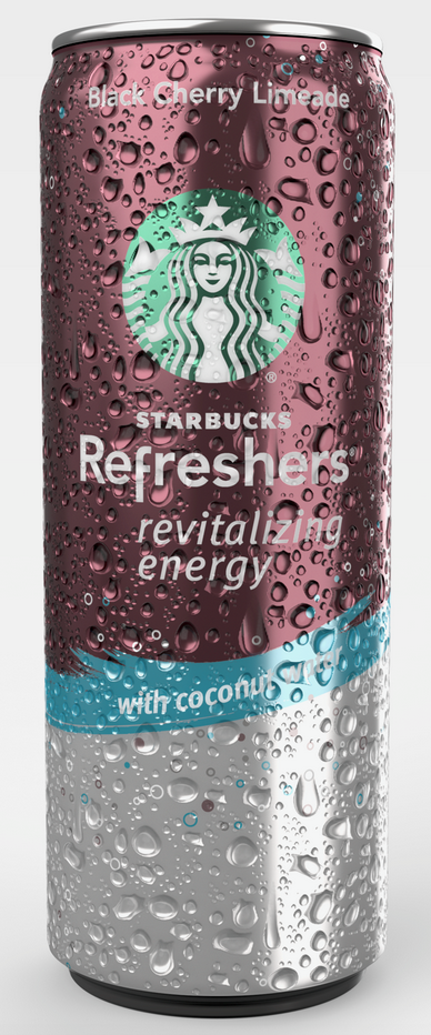 iC3D Spritzing - Food - Starbucks Black Cherry Limeade Can - Picture