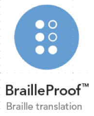 BrailleProof - Ikon