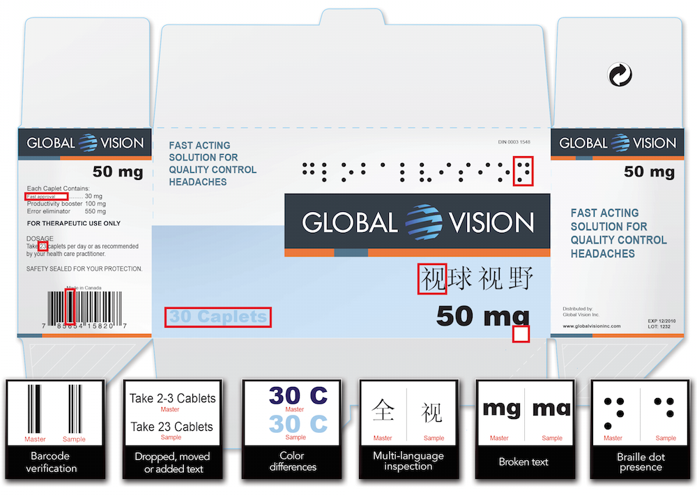 ScanProof - Proofreading of Pharmaceutical Carton - Bild