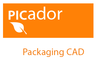 Picador - 2D/3D Structure design of cardboard packaging and POS/Display - Text: Packaging CAD - Logo